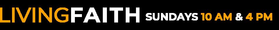Living Faith Logo